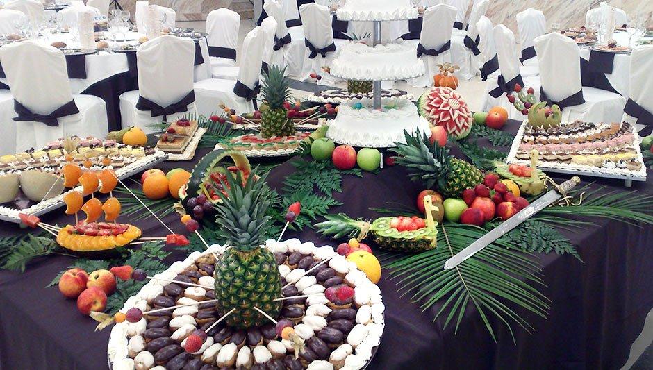 Fruta tallada. Eventos y Catering