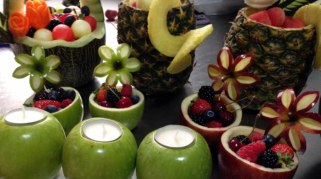 Mesa de Fruta para Boda en Córdoba disFruta -> Decoração De Frutas Para Mesa